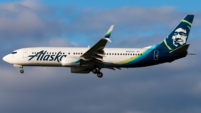 A picture of N592AS - Boeing 737890 - Alaska Airlines - © Eric Esots