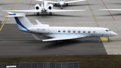 VP-CNT - Gulfstream G650ER - Private