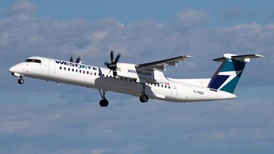 A picture of CFNEN - De Havilland Canada Dash 8400 - WestJet - © 10wingz