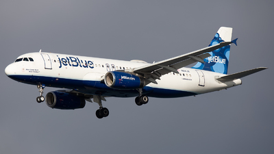 N641JB - Airbus A320-232 - jetBlue Airways