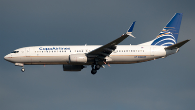 HP-1846CMP - Boeing 737-8V3 - Copa Airlines