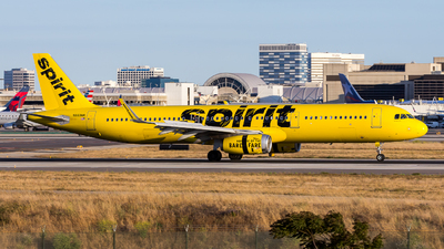 N669NK - Airbus A321-231 - Spirit Airlines
