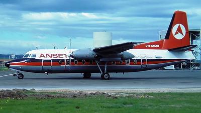 VH-MMR - Fokker F27-200 Friendship - Ansett Airlines of South Australia