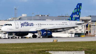 N646JB - Airbus A320-232 - jetBlue Airways