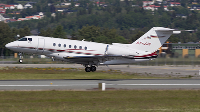 OY-JJS - Raytheon Hawker 4000 Horizon - Sun Air
