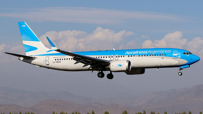 A picture of LVHKW - Boeing 737 MAX 8 - Aerolineas Argentinas - © Carlos P. Valle C.