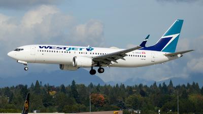 C-GRAX - Boeing 737-8 MAX - WestJet Airlines