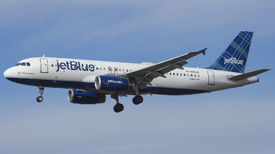 N519JB - Airbus A320-232 - jetBlue Airways