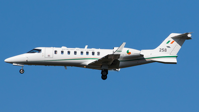 258 - Bombardier Learjet 45 - Ireland - Air Corps