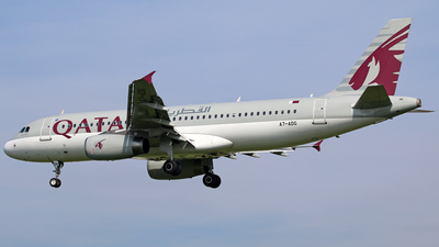 A7-ADG - Airbus A320-232 - Qatar Airways