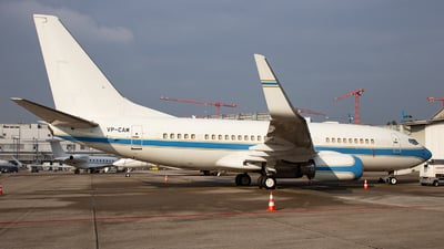 VP-CAM - Boeing 737-7KK(BBJ) - Private