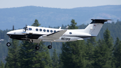 N511PS - Beechcraft 200 Super King Air - Private