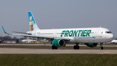 A picture of N721FR - Airbus A321211 - Frontier Airlines - © bellcc