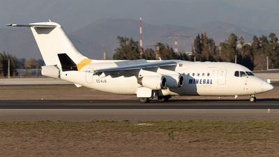 CC-AJS - British Aerospace Avro RJ85 - Mineral Airways (Aerovías DAP)
