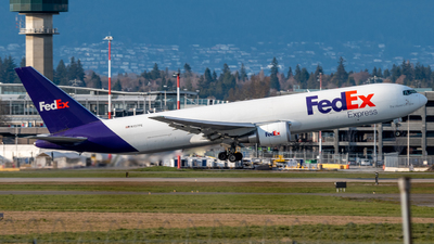 A picture of N137FE - Boeing 7673S2F(ER) - FedEx - © Michal Mendyk