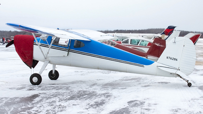 N76286 - Cessna 140 - Private
