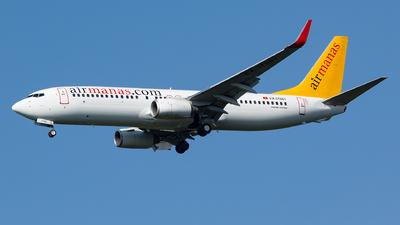 EX-37801 - Boeing 737-82R - Air Manas