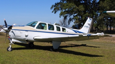 LV-WGL - Beechcraft B36TC Bonanza - Private