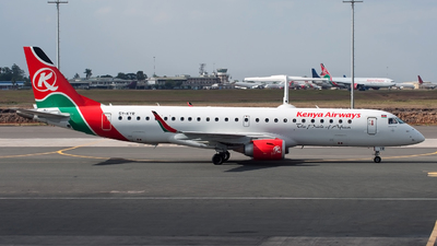 5Y-KYR - Embraer 190-100IGW - Kenya Airways