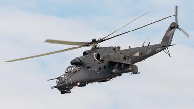 334 - Mil Mi-24P Hind F - Hungary - Air Force