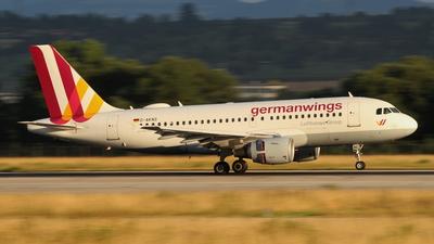 D-AKNS - Airbus A319-112 - Germanwings