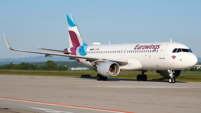 A picture of DAEWK - Airbus A320214 - Eurowings - © Dominik Erhardt