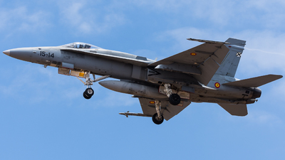 C.15-27 - McDonnell Douglas EF-18A+ Hornet - Spain - Air Force