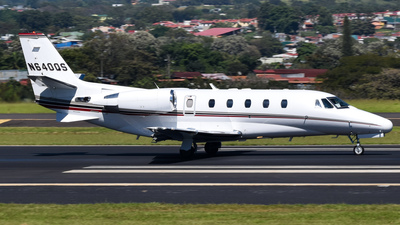 A picture of N640QS - Cessna 680A Citation Latitude - NetJets - © Roberto Aguilar H.
