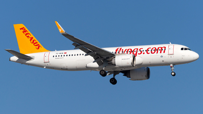 A picture of TCNCB - Airbus A320251N - Pegasus Airlines - © Turkay Oksuz