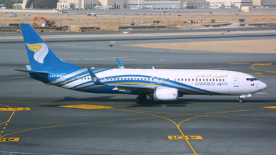 A picture of A4OBQ - Boeing 73781M - Oman Air - © jeremy denton
