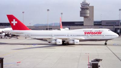HB-IGD - Boeing 747-357(M) - Swissair