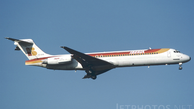EC-EYB - McDonnell Douglas MD-87 - Iberia