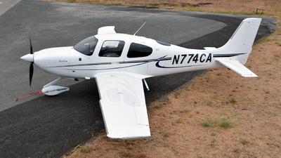 N774CA - Cirrus SR22T - Private