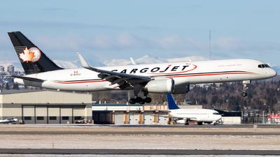 A picture of CGTCJ - Boeing 757223(PCF) - Cargojet Airways - © Alex Praglowski