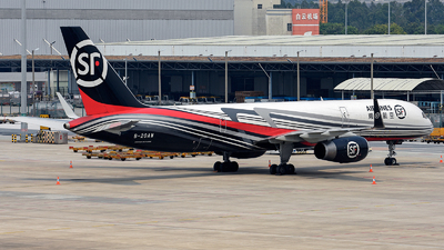 A picture of B20AW - Boeing 757236(PCF) - SF Airlines - © Alva
