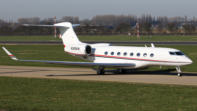 N305KN - Gulfstream G650 - Private