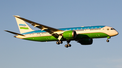 UK001 - Boeing 787-8 Dreamliner - Uzbekistan - Government