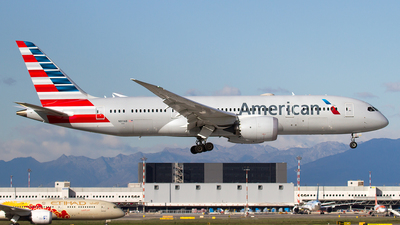 A picture of N811AB - Boeing 7878 Dreamliner - American Airlines - © Paolo Maggiolo
