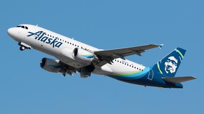 N853VA - Airbus A320-214 - Alaska Airlines
