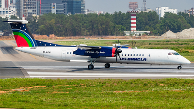 A picture of S2AGW - De Havilland Canada Dash 8400 - USBangla Airlines - © Emdadul Hoque