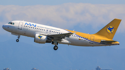 XY-ALN - Airbus A319-112 - Myanmar Airways International (MAI)