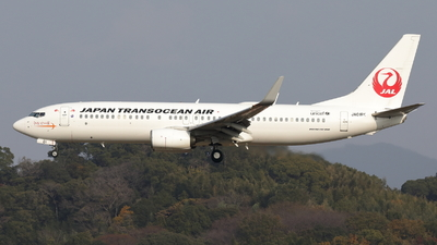 A picture of JA01RK - Boeing 7378Q3 - Japan Transocean Air - © OHMOTO Masao