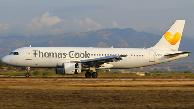 YL-LCK - Airbus A320-214 - Thomas Cook Airlines (SmartLynx Airlines)