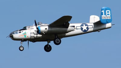 N125AZ - North American B-25J Mitchell - Commemorative Air Force