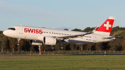 A picture of HBJDA - Airbus A320271N - Swiss - © Kay Hansen