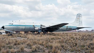 CP-1283 - Douglas DC-6 - La Cumbre Transportes Aéreos