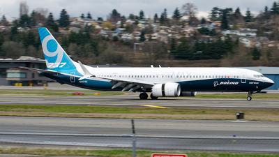 N7379E - Boeing 737-9 MAX - Boeing Company