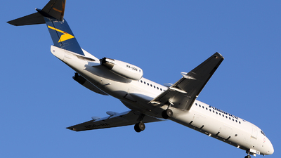A picture of VHUQN - Fokker 100 - Alliance Airlines - © Brenden