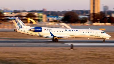 A picture of N533GJ - Mitsubishi CRJ550 - United Airlines - © Yan777