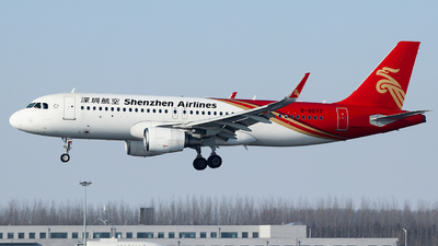 A picture of B8077 - Airbus A320214 - Shenzhen Airlines - © King Wang